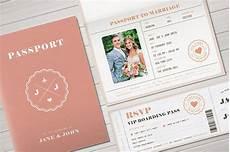 Passport Template Download Passport Wedding Invitation Templates 15 Free Psd