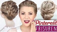 chice frisuren selber machen diy hairstyles fischgr 228 tenzopf und haarkranz