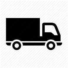 freight transport lorry truck vehicle icon