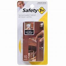 safety 1st 174 loaded cabinet drawer latches 10pk