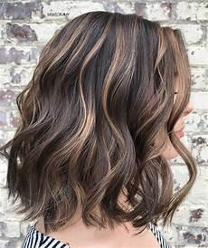 Light Brown Hair With Beige Highlights 50 Dark Brown Hair With Highlights Ideas For 2020 Hair