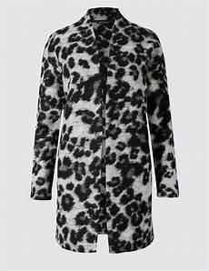 animal coats leopard print coats aw17 jacquardflower