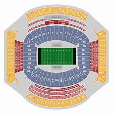 Bryant Denny Stadium Seating Chart With Seat Numbers Bryant Denny Stadium Tuscaloosa Tickets Schedule
