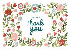 Thank You Cards To Print Free Bountiful Blooming Thank You Card Template Free