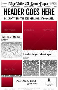 Newspaper Outline For Word 35 Best Newspaper Templates In Indesign And Psd Formats