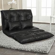 Floor Sofa Lounger 3d Image by Best Choice Products Faux Leather Folding Chaise Lounge