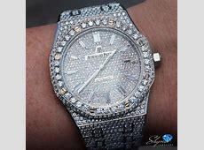 Baguette markers on the fully iced AP ? #Shyne #