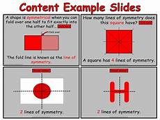 Line Of Symmetry Powerpoint Year 4 Symmetry Animated Powerpoint Presentation And