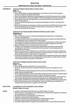 special education teacher assistant resume sample resume special education assistant resume