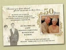 50th Anniversary Template 50th Wedding Anniversary Invitation Templates Wedding
