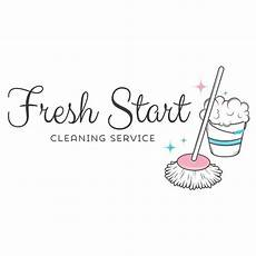 Cleaner Company Names Cleaning Service Logo Customized With Your Business Name