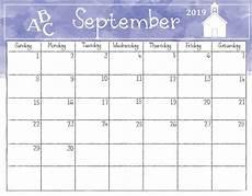 Free Printable September Calendar September 2019 Calendar Printable Excel Template With Holidays