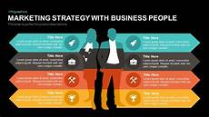 Business Strategy Powerpoint Marketing Strategy Powerpoint Template With Business People
