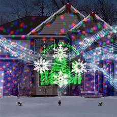 Orchestra Of Lights Christmas Lights Lowes Gemmy Orchestra Of Lights Multi Function Red Green Blue