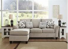 abney driftwood sofa chaise signature design by