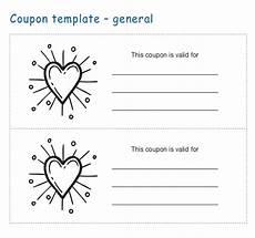 Printable Coupon Templates Free 34 Coupon Templates Word Psd Ai Free Amp Premium
