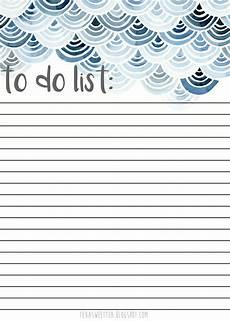 Do Do List Free To Do List Printable