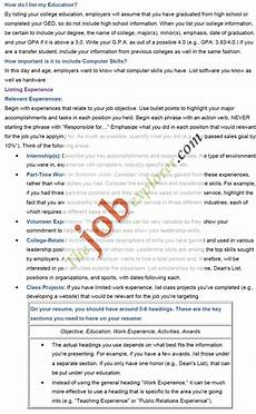 How Do I Make A Resume How To Write A Cover Letter And Resume Format Template