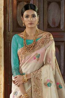 All Over Saree Design Buy Designer Silk Saree Woven With Boti Work All Over