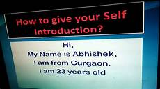 Introduction For Interview Self Introduction Fresher Job Interview How To Introduce