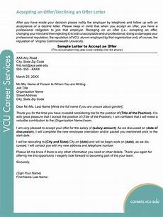 How To Make A Counter Offer Decline Counter Offer Letter Sample Templates At