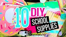10 diy school supplies diy crafts for back to school with
