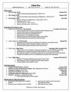 Statistics Major Resume School Administrator Resume Example Adjunct Supervisor