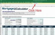 Free Mortgage Calculator And Amortization Schedule Enable Editing Protect Mode Mortgage Payment Calculator