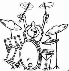 Malvorlagen Comic Con Schlagzeuger Ausmalbild Malvorlage Musik
