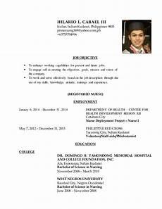 Resume Search Philippines Resume Registered Nurse