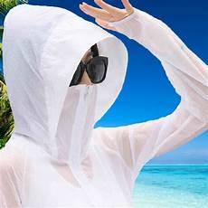 sleeve spf shirts wear 2017 new genuine uv sun protection clothing transparent
