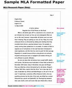 Cover Page For Mla Research Paper Example Sample Cover Page For Research Paper 7 Examples In Word