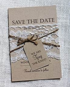 Wedding Save The Date And Invitations Lace Wedding Save The Date Save The Dates Rustic Wedding