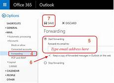 auto forward frequently asked questions on office computing