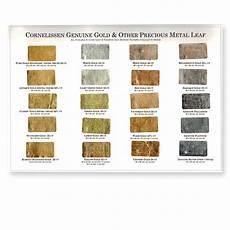 Cornelissen Gold Leaf Colour Chart 80 And 85
