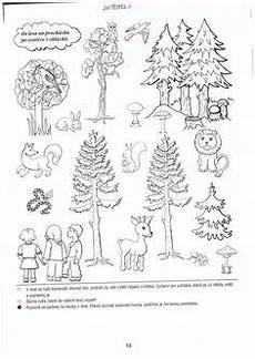 Malvorlagen Tiere Und Natur Natur Wald Herbst Tiere Malvorlage Kindergarten Natur