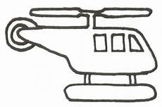 Malvorlagen Polizei Helikopter Hubschrauber Malvorlage Helikopter Ausmalbild