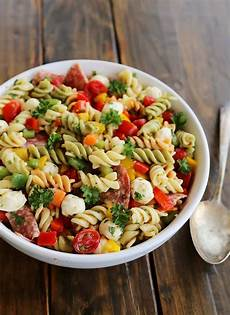 Salad With Pasta 7 Easy Pasta Salad Recipes 31 Daily