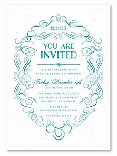 Formal Business Invitations Formal Scrolls By Green