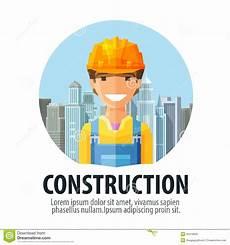 Vector Company Construction Company Vector Logo Design Template Stock