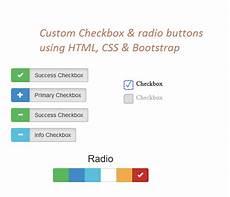 Custom Checkbox Design Html Custom Checkbox And Custom Radio Buttons In Html
