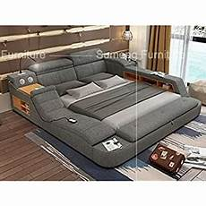 all in one leather bed frame with