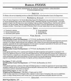 Fire Captain Resume Fire Captain Resume Example Fire Resumes Livecareer