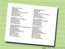 How To Make A Reference Page How To Make A Reference Page With Pictures Wikihow