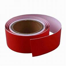Red Tape Over Light 10m X 5cm Self Adhesive Tape Light Reflecting Tape Red