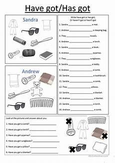 cing have has got worksheet free esl printable