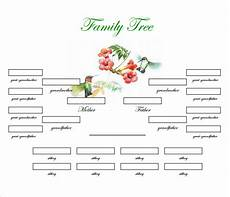 Free Family Tree Template Word Doc Family Tree Template 31 Free Printable Word Excel Pdf