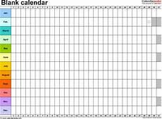Blank Fillable Calendar 2016 Form Fillable Calendar By The Month Calendar