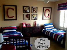 Sports Bedroom Ideas Marci Coombs The Boys Sports Themed Bedroom
