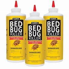 harris 8 oz diatomaceous earth bed bug killer 3 pack